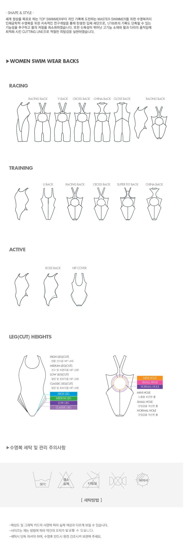아레나(ARENA) 여성 일반 원피스 수영복 AVSPL63BLK